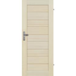 """Drzwi sosnowe, bezseczne - Tossa pelne - Seria Premium - Drzwi wewnetrzne drewniane """"RADEX"""""""