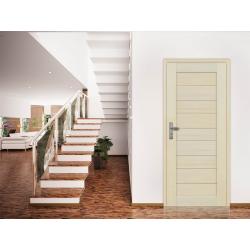 Drzwi sosnowe, bezsęczne - Tossa pełne - Seria Premium - Drzwi wewnętrzne drewniane