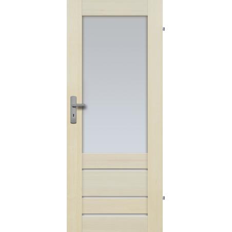 """Drzwi sosnowe, bezsęczne - Marbella 4S - Seria Premium - Drzwi wewnętrzne """"RADEX"""""""