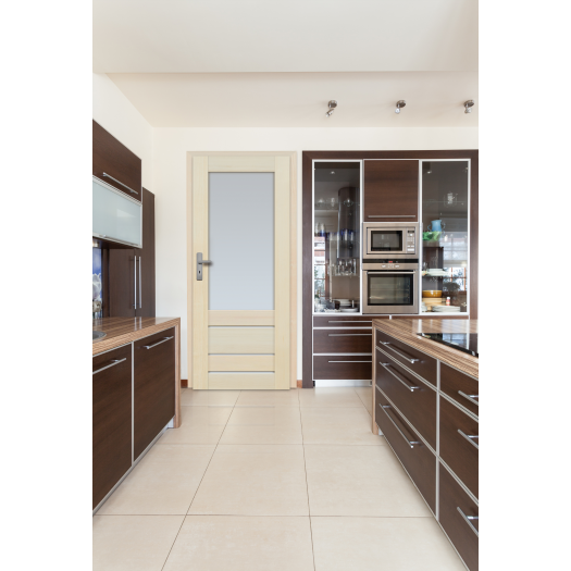 Drzwi sosnowe, bezsęczne - Marbella 4S - Seria Premium - Drzwi wewnętrzne