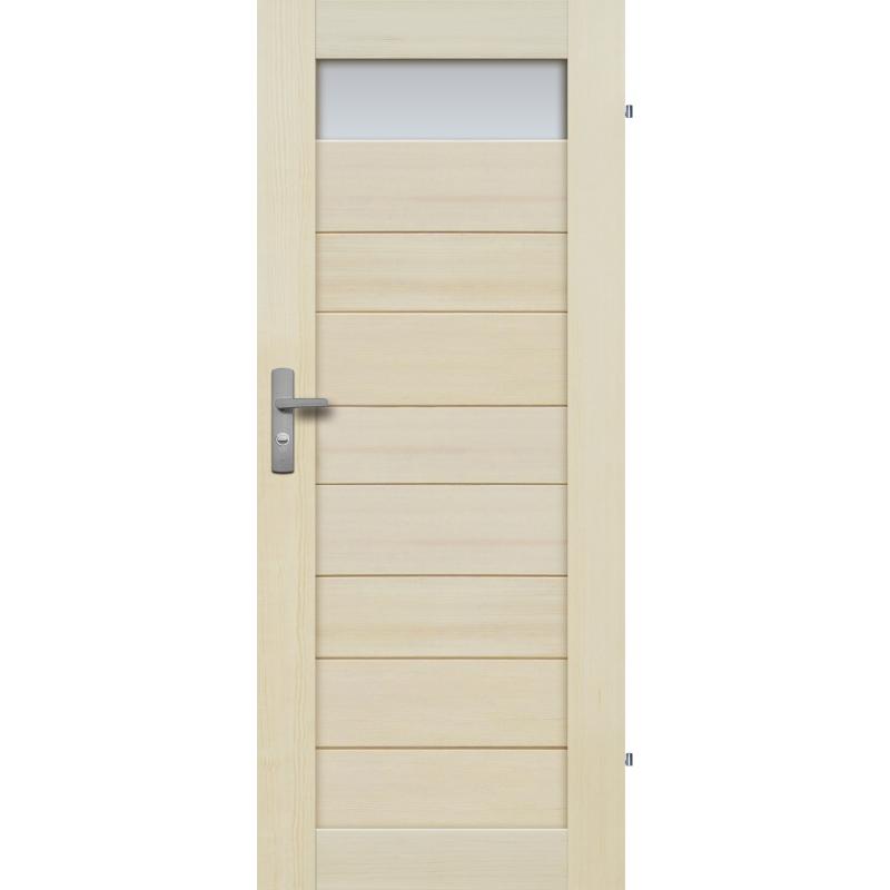 """Drzwi sosnowe, bezseczne - Tossa 1S - Seria Premium - Drzwi wewnetrzne drewniane """"RADEX"""""""