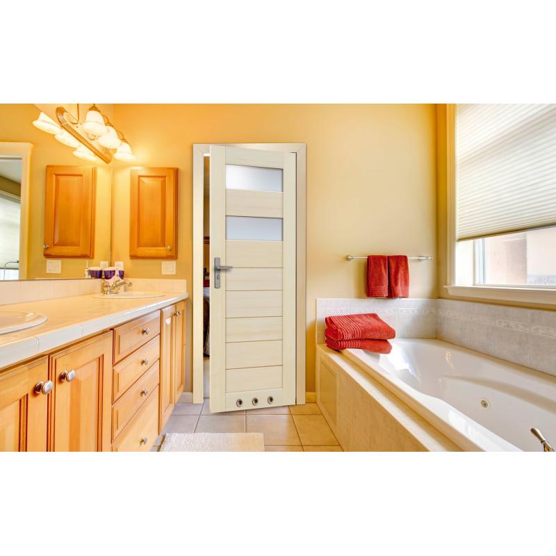 Drzwi sosnowe, bezsęczne - Tossa 2S - Seria Premium - Drzwi wewnętrzne drewniane