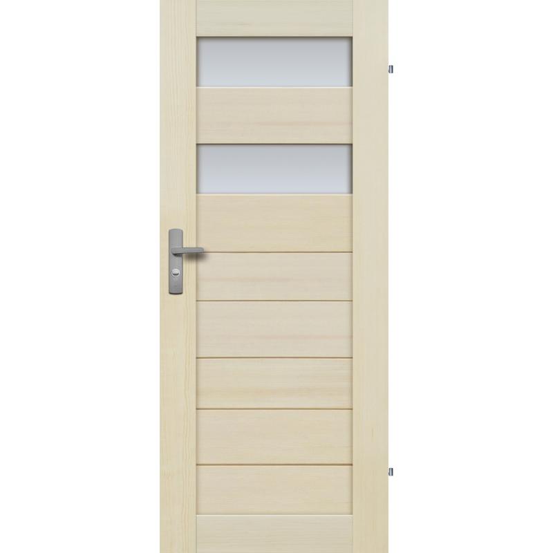 """Drzwi sosnowe, bezseczne - Tossa 2S - Seria Premium - Drzwi wewnetrzne drewniane """"RADEX"""""""