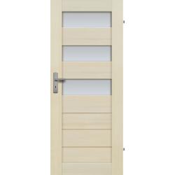 """Drzwi sosnowe, bezseczne - Tossa 3S - Seria Premium - Drzwi wewnetrzne drewniane """"RADEX"""""""