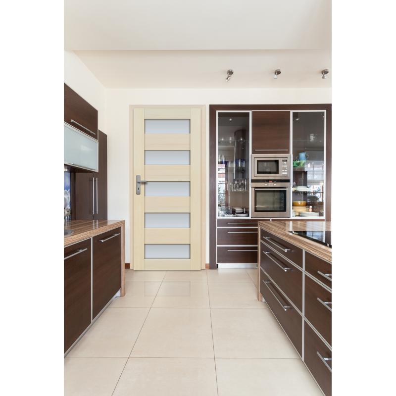 Drzwi sosnowe, bezsęczne - Tossa 4S - Seria Premium - Drzwi wewnętrzne drewniane
