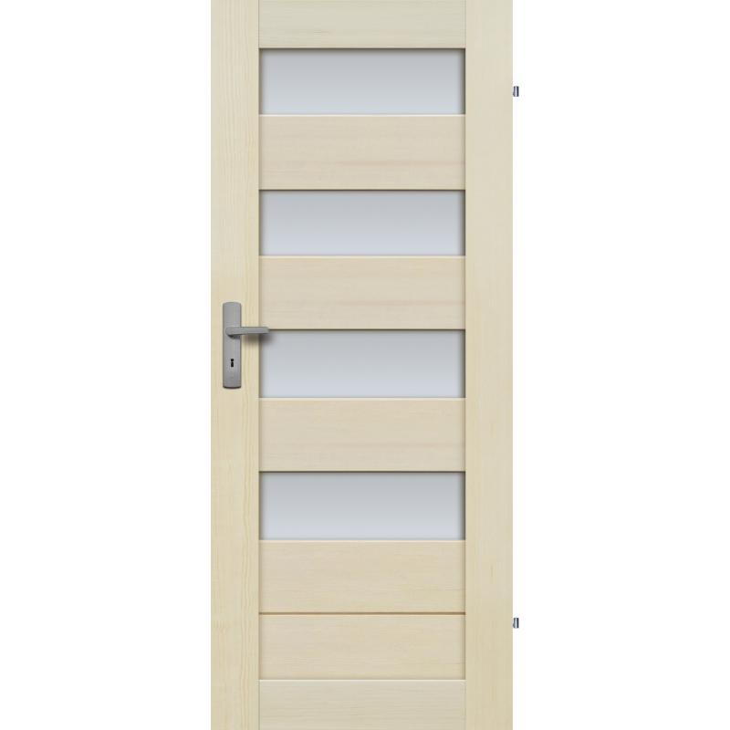 """Drzwi sosnowe, bezseczne - Tossa 4S - Seria Premium - Drzwi wewnetrzne drewniane """"RADEX"""""""