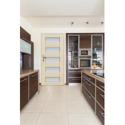 Drzwi sosnowe, bezsęczne - Tossa 5S - Seria Premium - Drzwi wewnętrzne drewniane