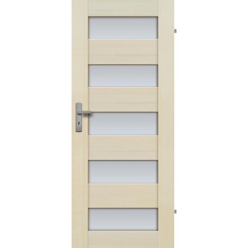 """Drzwi sosnowe, bezseczne - Tossa 5S - Seria Premium - Drzwi wewnetrzne drewniane """"RADEX"""""""