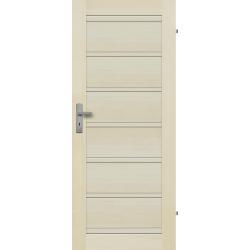 """Drzwi sosnowe, bezseczne - Roma pelne - Seria Premium - Drzwi wewnetrzne drewniane """"RADEX"""""""