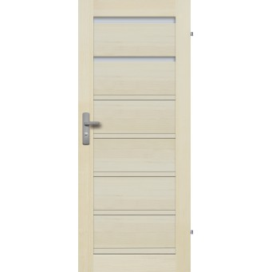 """Drzwi sosnowe, bezseczne - Roma 2S - Seria Premium - Drzwi wewnetrzne drewniane """"RADEX"""""""