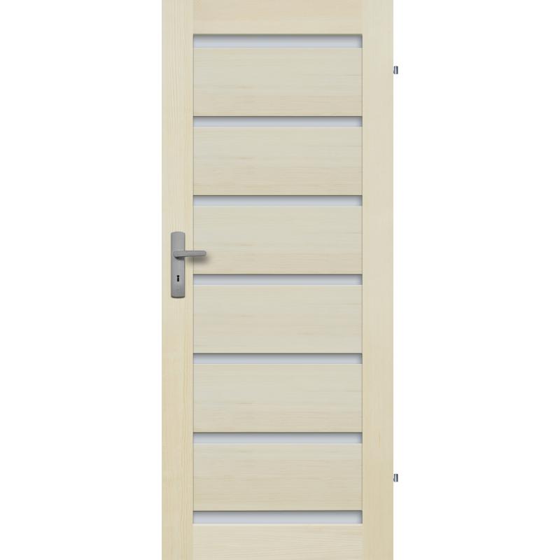 """Drzwi sosnowe, bezseczne - Roma 7S - Seria Premium - Drzwi wewnetrzne drewniane """"RADEX"""""""