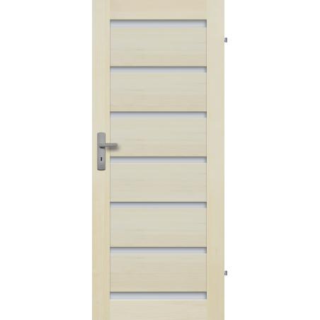 """Drzwi sosnowe, bezsęczne - Roma 7S - Seria Premium - Drzwi wewnętrzne drewniane """"RADEX"""""""