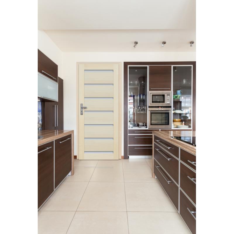 Drzwi sosnowe, bezsęczne - Roma 7S - Seria Premium - Drzwi wewnętrzne drewniane