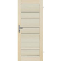 """Drzwi sosnowe, bezseczne -Milano pelne - Seria Premium - Drzwi wewnetrzne drewniane """"RADEX"""""""