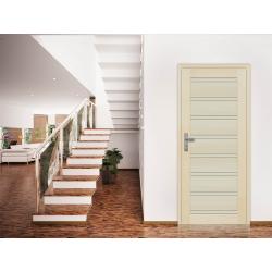 Drzwi sosnowe, bezsęczne -Milano pełne - Seria Premium - Drzwi wewnętrzne drewniane