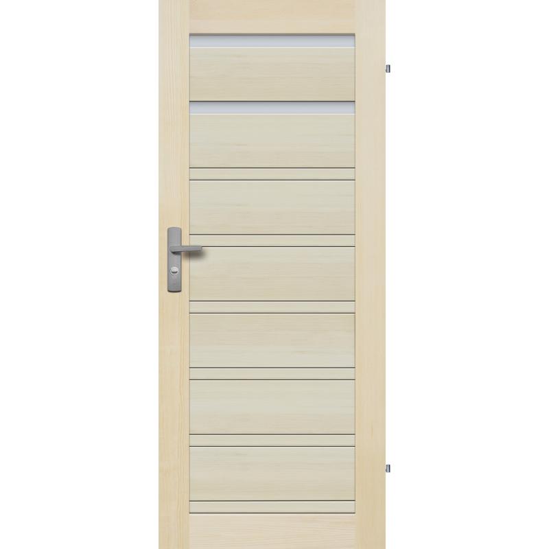 """Drzwi sosnowe, bezseczne -Milano 2S - Seria Premium - Drzwi wewnetrzne drewniane """"RADEX"""""""