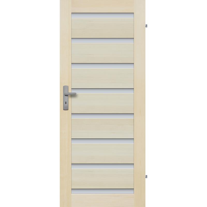 """Drzwi sosnowe, bezseczne -Milano 8S - Seria Premium - Drzwi wewnetrzne drewniane """"RADEX"""""""