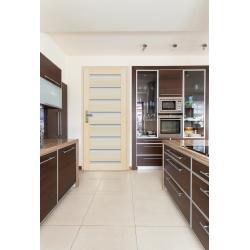 Drzwi sosnowe, bezsęczne -Milano 8S - Seria Premium - Drzwi wewnętrzne drewniane