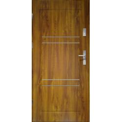 Drzwi zewnetrzne APOLLO V2 - Zloty Dab. Produkt POLSKI.