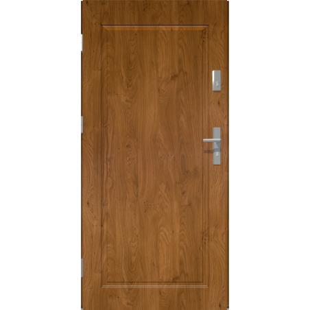 Drzwi zewnętrzne pełne APOLLO V1 - Winchester. Produkt POLSKI.