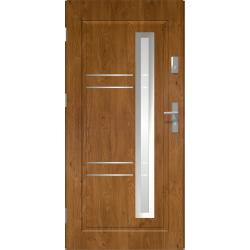 Drzwi zewnętrzne przeszklone APOLLO - Winchester. Szklenie Lakomat. Produkt polski