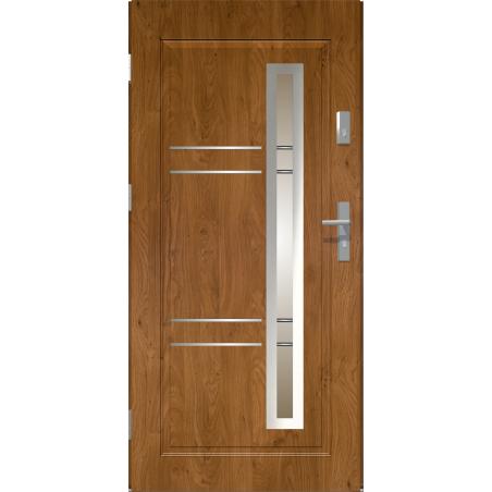 Drzwi zewnętrzne przeszklone APOLLO - Winchester. Produkt POLSKI.