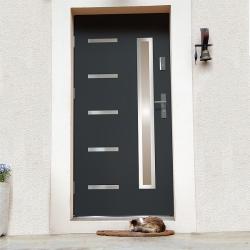 Drzwi zewnętrzne JUVENTUS - Produkt polski- aranżacja