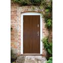 Drzwi zewnętrzne KYPROS - Produkt polski- aranżacja