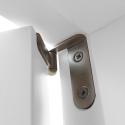 """Drzwi sosnowe, sęczne - """"Verona"""" 1S - Seria Classic - Bezprzylgowe Drzwi wewnętrzne drewniane """"RADEX"""""""