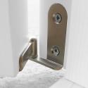 """Drzwi sosnowe, sęczne - """"Lugano"""" 1S - Seria Classic - Bezprzylgowe Drzwi wewnętrzne drewniane """"RADEX"""""""
