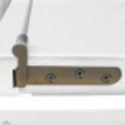 """Drzwi sosnowe, sęczne - """"Lugano"""" 6S - Seria Classic - Bezprzylgowe Drzwi wewnętrzne drewniane """"RADEX"""""""