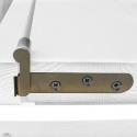 """Drzwi sosnowe, sęczne - """"Czapla"""" 6S - Seria Classic - Bezprzylgowe Drzwi wewnętrzne drewniane """"RADEX"""""""