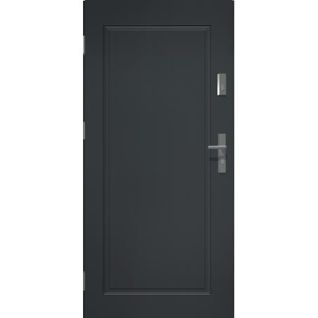 Drzwi zewnętrzne klasy RC2 APOLLO V1 - Antracyt. Produkt POLSKI.