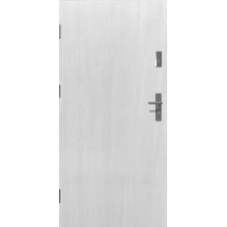 Drzwi zewnętrzne klasy RC2 - 38dB KYPROS - Białe. Produkt POLSKI.