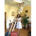 Drewniane schody strychowe 4STEP: TERMO 90x70 zabieg