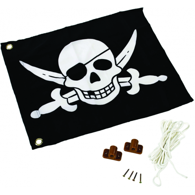 Flaga na place zabaw - Pirat!