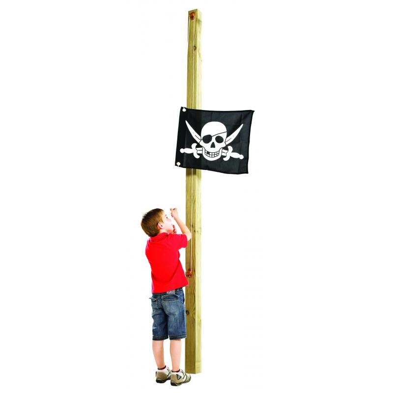 Flaga na place zabaw - Pirat