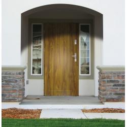 Drzwi zewnętrzne RC2 APOLLO V1 - Złoty Dąb. Produkt POLSKI.
