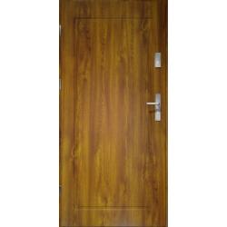 Drzwi zewnętrzne klasy RC2 - 38dB APOLLO V1 - Złoty Dąb. Produkt POLSKI.