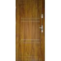 Drzwi zewnętrzne APOLLO V2 - Złoty Dąb. Produkt POLSKI.