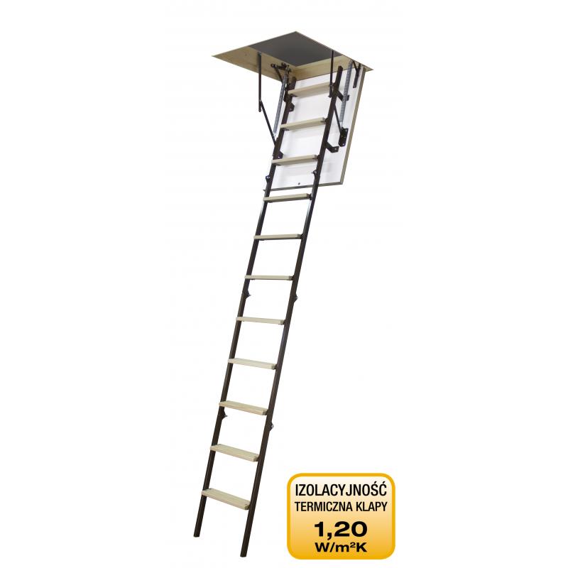 Schody strychowe 4STEP: STALLUX 32 mm MINI 80x70
