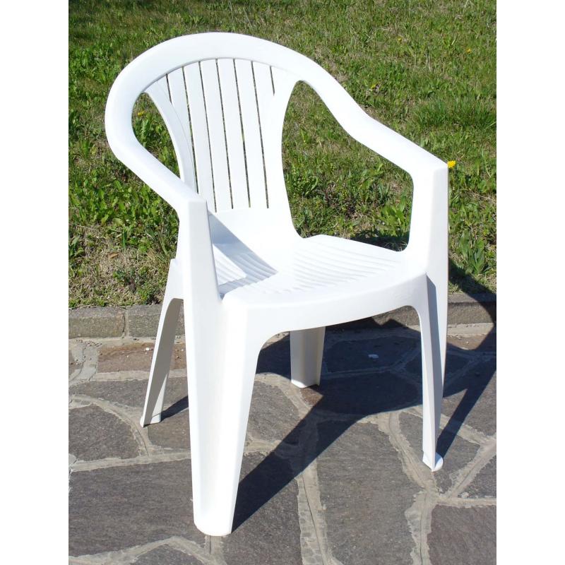 Krzesło Atlantide Białe