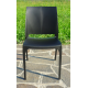 Nowoczesne krzesło Volga - Włoski Design - Kolor Czarny