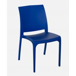 Nowoczesne krzeslo Volga - Wloski Design - Kolor Niebieski