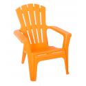 Nowoczesne krzesło Maryland - Włoski Design - Kolor Pomarańczowy