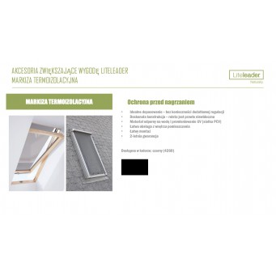 Okno dachowe Liteleader EnergyEndure M6A 78x118cm