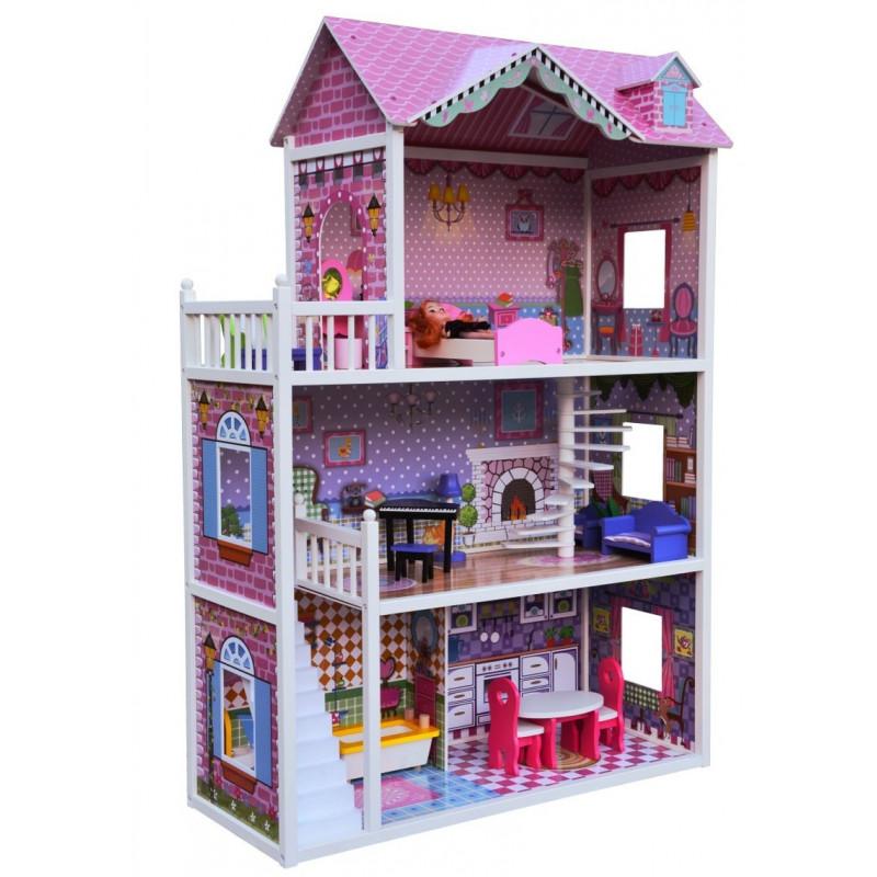 JULIA - drewniany domek dla lalek