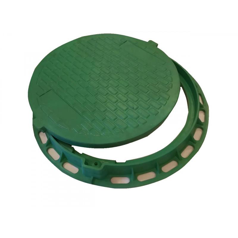 Pokrywa do szamba - zielony polimer