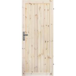 """Drzwi sosnowe, sęczne - """"Loft I"""" - Seria LOFT - Drzwi wewnętrzne drewniane """"RADEX"""""""