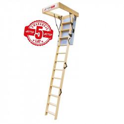 """Drewniane schody strychowe """"TERMO"""" 90x60"""